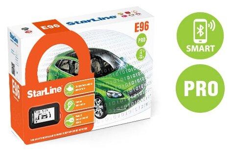 Автосигнализация StarLine E96 BT PRO 2CAN+2LIN — купить по выгодной цене на Яндекс.Маркете