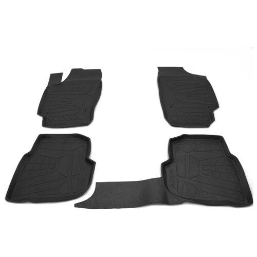 Комплект ковриков AVD Tuning ADRPLR272 Volkswagen Polo 4 шт. черный