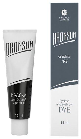 Innovator Cosmetics Краска для ресниц и бровей Bronsun, 15мл