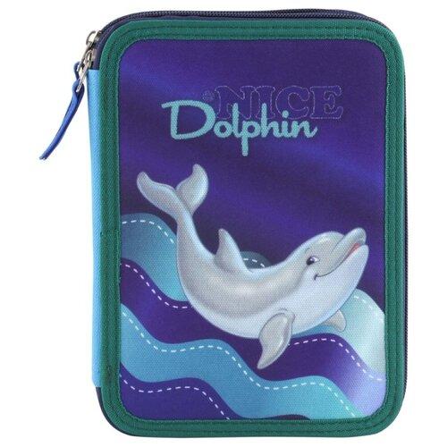 Target Пенал Дельфины №1 (17436) фиолетовый