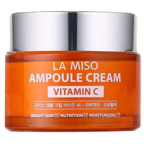 La Miso Ampoule Cream Vitamin C Крем для лица с витамином С, 50 г