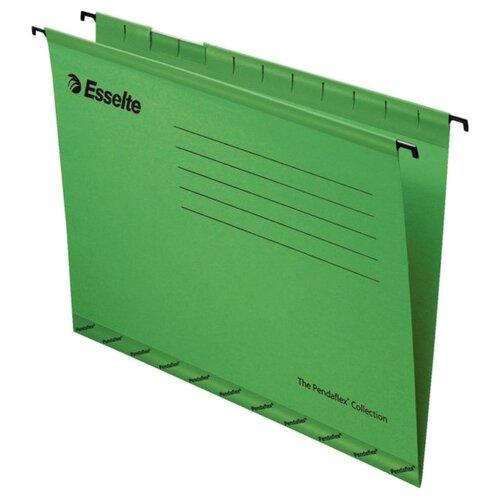 Купить Esselte Папка подвесная Pendaflex plus foolscap А4+, картон, 25 шт зеленый, Файлы и папки