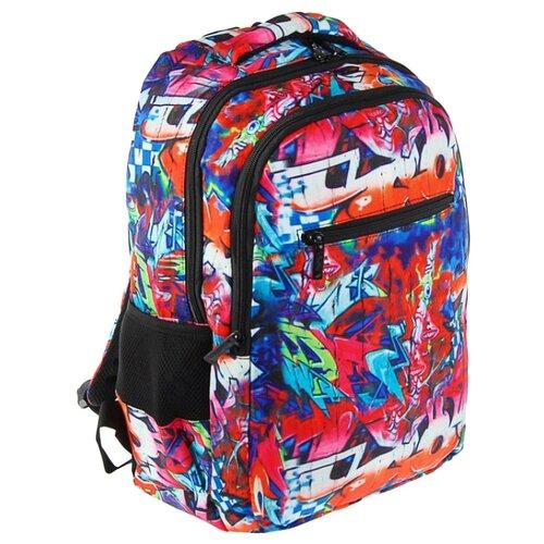 Hatber рюкзак Basic style Graffiti NRk_25086 разноцветныйРюкзаки, ранцы<br>