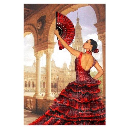 Купить Созвездие Набор для вышивания бисером Испания 20 х 27 см (АГД-103), Наборы для вышивания