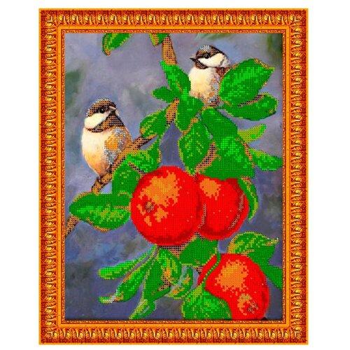 Светлица Набор для вышивания бисером Яблоневый сад 24 х 30 см, бисер Чехия (337)