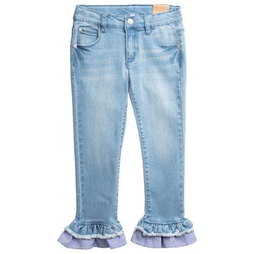 Джинсы playToday размер 122, голубой джинсы playtoday playtoday mp002xb00a99