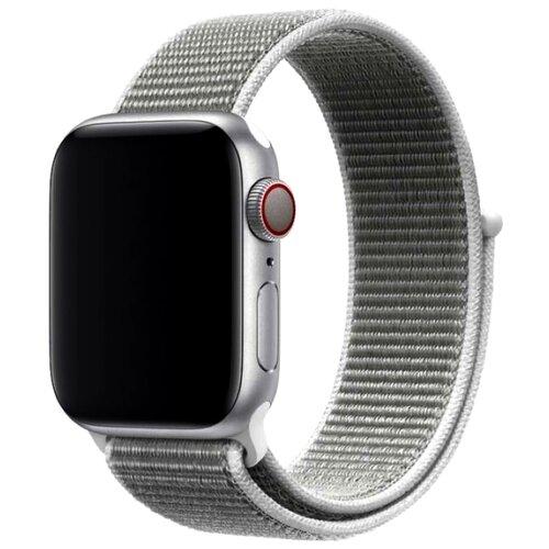 Фото - Devia Ремешок Series Sport 3 для Apple Watch 38/40mm светло-серый ремешок devia elegant series milanese loop для apple watch 4 44mm silver