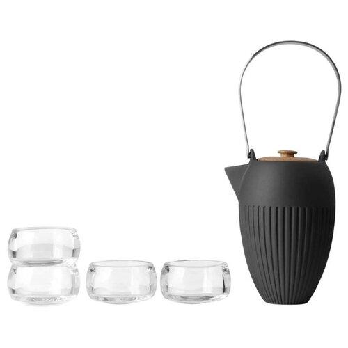 Чайный сервиз VIVA Scandinavia Senses, 4 персоны антрацитовый