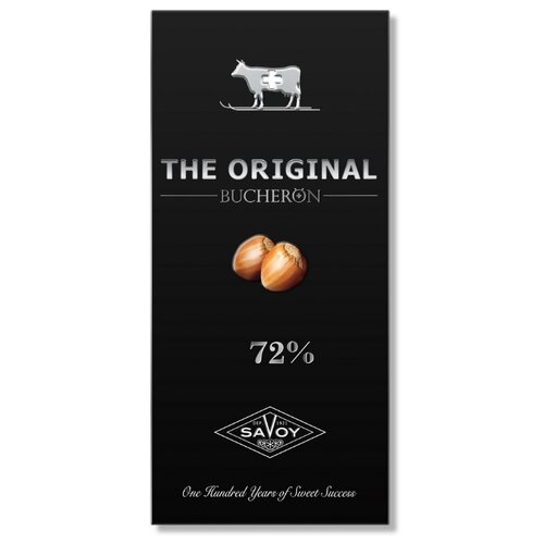 шоколад bucheron village горький с миндалем 100 г Шоколад Bucheron Original горький с дробленым фундуком 72% какао, 100 г
