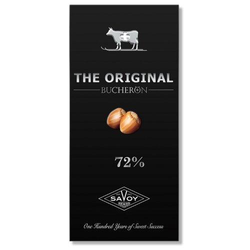 шоколад cemoi горький 72% какао 100 г Шоколад Bucheron Original горький с дробленым фундуком 72% какао, 100 г