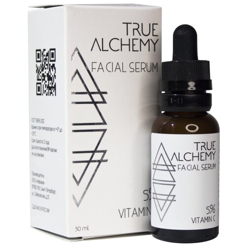 True Alchemy 5% Vitamin C сыворотка для лица с витамином C, 30 мл