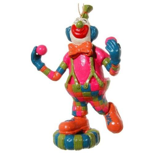 Елочная игрушка SHISHI 46362, розовый