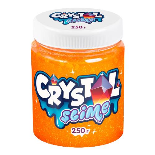 Жвачка для рук SLIME Crystal апельсиновый