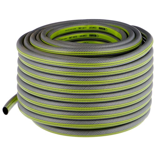 Шланг REHAU SLIDE LINE 3/4 50 метров серый/зеленый шланг rehau slide line 1 2 50