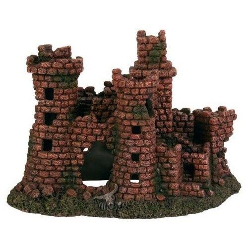 Грот TRIXIE Разрушенный замок высота 27 см зеленый/коричневый