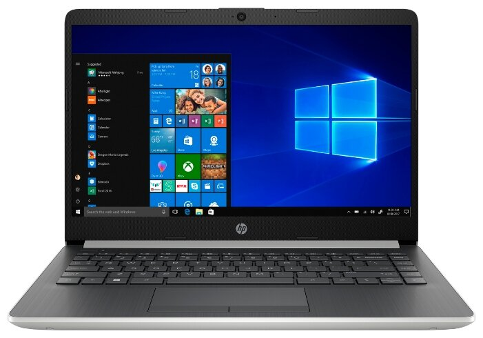 Ноутбук HP 14-dk0000