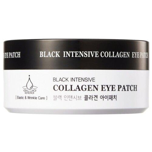 HANIxHANI Гидрогелевые патчи для глаз укрепляющие с коллагеном Black Intensive Collagen Eye Patch (60 шт.) недорого
