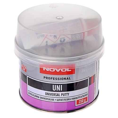 Комплект (шпатлевка, отвердитель) NOVOL UNI 0.25 кг