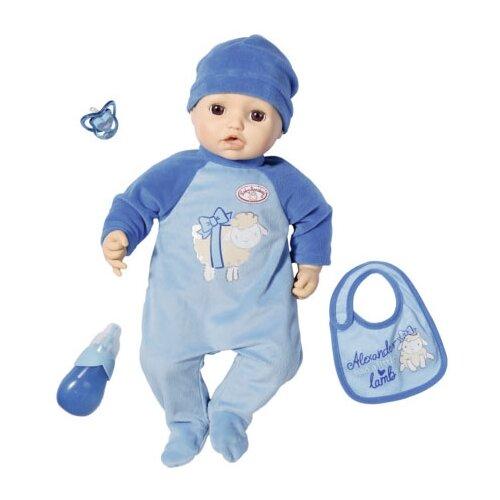 Фото - Интерактивный пупс Zapf Creation Baby Annabell Мальчик, 43 см, 701-898 бутылочка zapf creation baby annabell 700 976 розовый