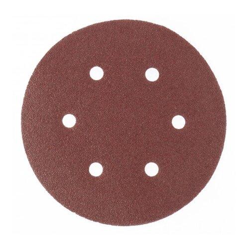 Фото - Шлифовальный круг на липучке matrix 73847 150 мм 5 шт шлифовальный круг на липучке hammer 214 016 150 мм 5 шт