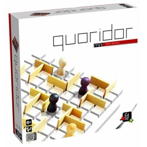 Настольная игра Gigamic Quoridor Mini gigamic настольная игра quixo mini