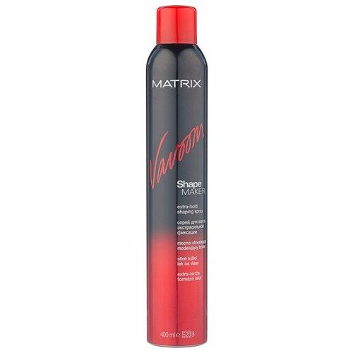 Matrix Спрей для укладки волос Vavoom Shape maker extra-hold, экстрасильная фиксация, 400 мл спрей для волос matrix matrix mp002xw11wbz