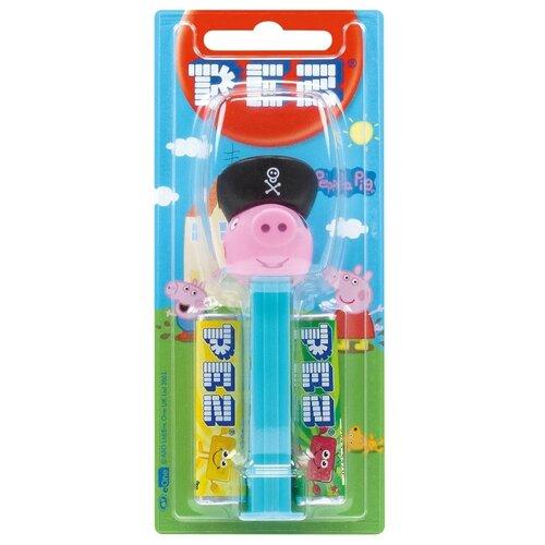 Игрушка с конфетами PEZ ассорти Свинка Пеппа 17 г игрушка с конфетами pez ассорти hello kitty 17 г