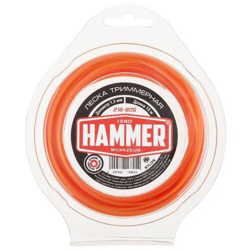 Леска Hammer 216-805 1.3 мм 15 м hammer 216 804 2 4 мм 15 м