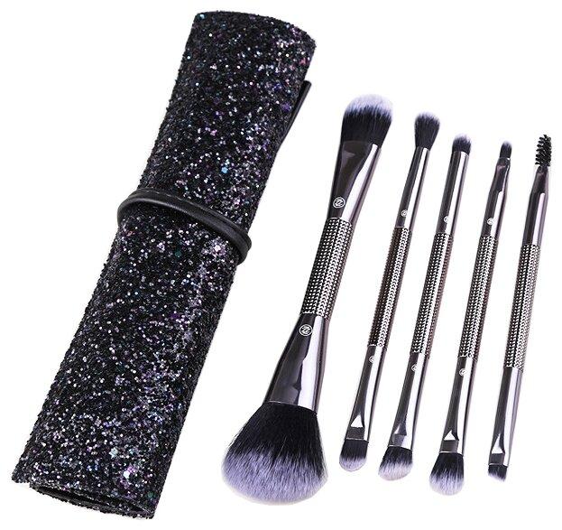 Набор кистей Zoreya Cosmetics Double Head Makeup Brushes ZZ5, 5 шт.