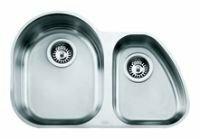 Врезная кухонная мойка ALVEUS Duo 10 69х45см нержавеющая сталь