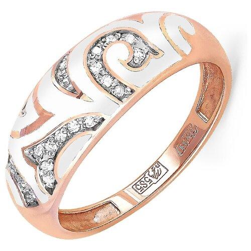 Фото - KABAROVSKY Кольцо с 23 бриллиантами из красного золота 11-0906-1010, размер 17 kabarovsky кольцо с 12 бриллиантами из красного золота 11 0398 1010 размер 17