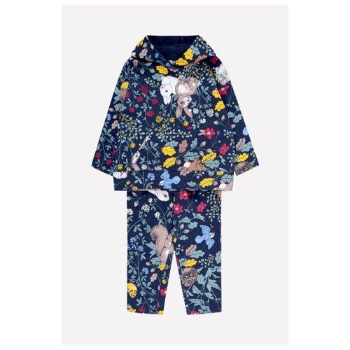 Купить Комплект одежды crockid размер 122, индиго, Комплекты и форма