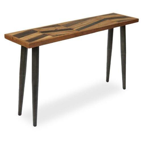 Столик журнальный Secret de Maison Largo LAR L08, ДхШ: 140 х 35 см, коричневый/натуральный