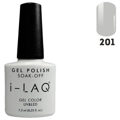 Гель-лак для ногтей I-LAQ Gel Color, 7.3 мл, оттенок 201 i laq гель лак 005