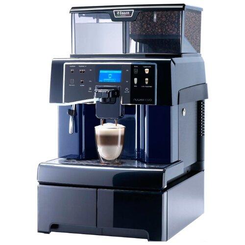 Кофемашина Saeco Aulika EVO Top High Speed Cappuccino черный кофемашина saeco aulika focus черный