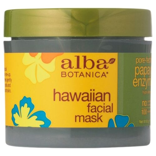 Alba Botanica Hawaiian Facial Mask Pore-Fecting Papaya Enzyme Энзимная маска с ферментами папайи, 85 г очищающее средство alba botanica