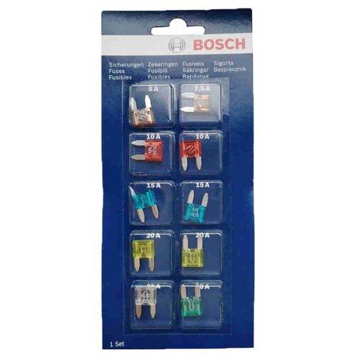 Набор предохранителей 10 шт. Bosch 1987529038