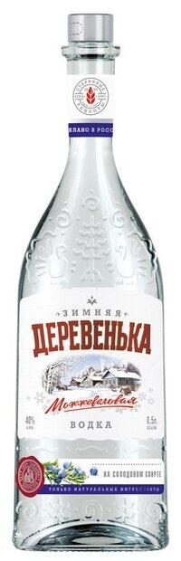 Водка Зимняя Деревенька Можжевеловая, 0.5 л