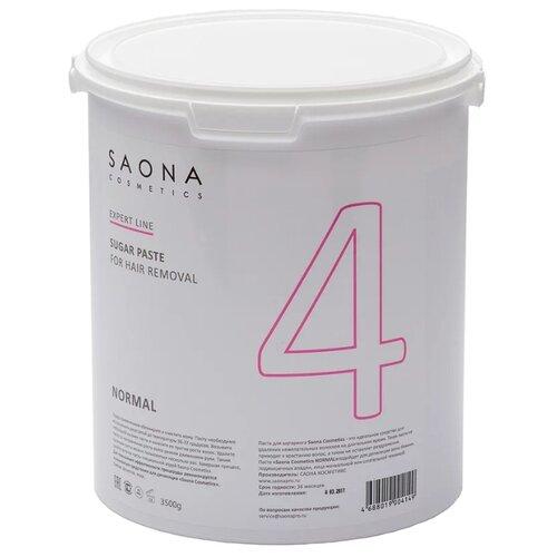 Паста для шугаринга Saona Cosmetics Expert Line 4 Нормальная 3500 г