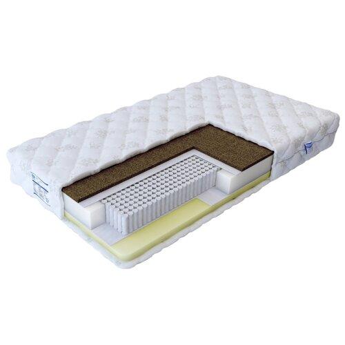 Матрас Промтекс-Ориент Микропакет Мемори 200x200 ортопедический пружинный белый матрас промтекс ориент микропакет мемори 200x200 ортопедический пружинный белый