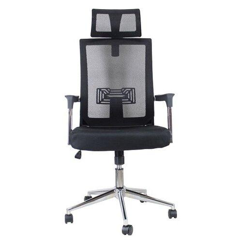 Компьютерное кресло Стимул СТК-XH-6125 офисное, обивка: текстиль, цвет: черный кресло стимул групп ctk xh 2107a black