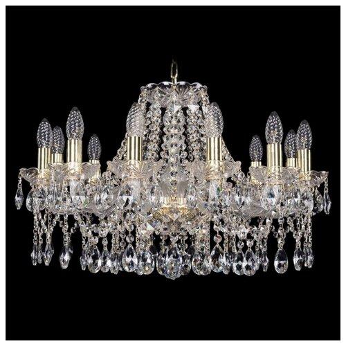 Люстра Bohemia Ivele Crystal 1413 1413/12/220/G, E14, 480 Вт люстра bohemia ivele crystal 1771 1771 12 220 b nb e14 480 вт