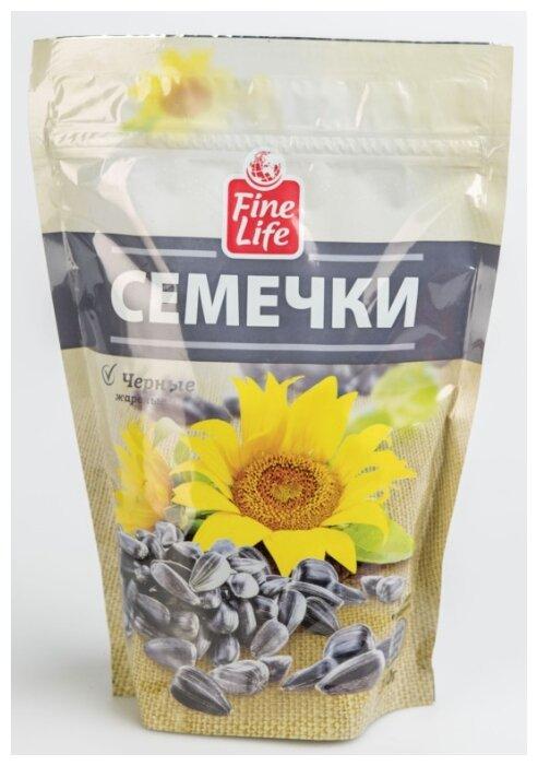 Семена подсолнечника Fine Life черные жареные 300 г