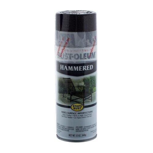 Эмаль Rust-Oleum Stops rust Hammered молотковая черный