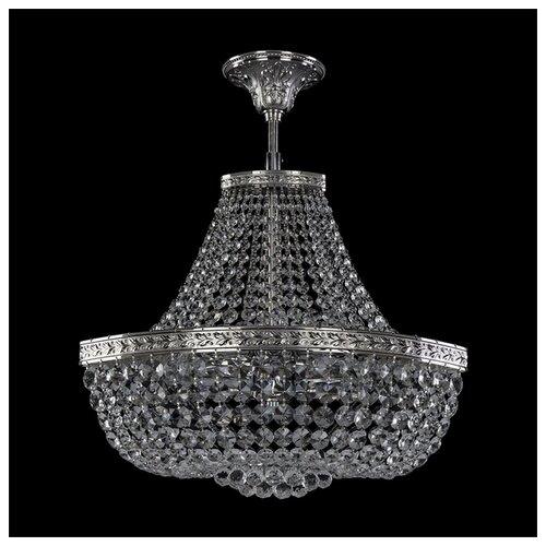 Фото - Люстра Bohemia Ivele Crystal 1928 19283/H1/45IV Ni, E14, 240 Вт bohemia ivele crystal 1903 19031 45iv gb