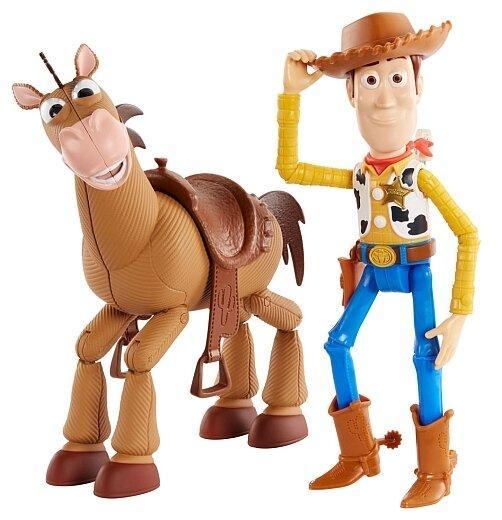 Игровой набор Mattel Toy Story 4 Вуди и Буллзай GGB26