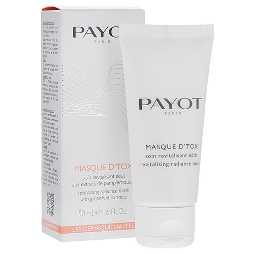 Payot Masque D'tox Очищающая маска-детокс с экстрактом грейпфрута, 50 мл payot маска детокс
