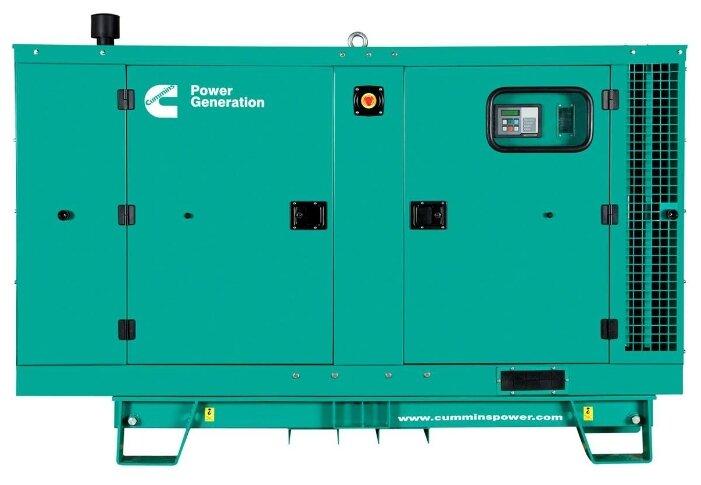 Дизельный генератор Cummins C55 D5 в кожухе (40000 Вт)