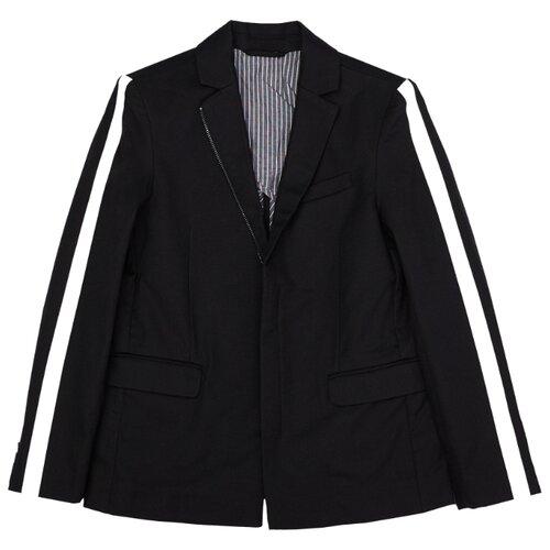 Пиджак Gulliver размер 140, черный пиджак gulliver gulliver gu015ebeexe4