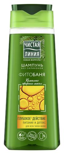 Купить Чистая линия шампунь Фитобаня, 250 мл по низкой цене с доставкой из Яндекс.Маркета